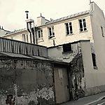 Vieux batiment d'un Paris d'une époque disparue