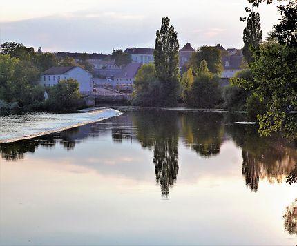 Le Doubs à Dole, Franche-Comté