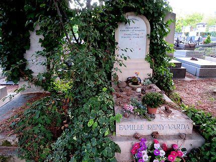 Tombe de Jacques Demy et d'Agnès Varda