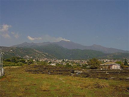 Zafferana et l'Etna