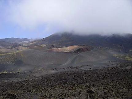 Flancs et cratères de l'Etna