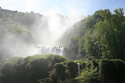 Cascade en Ombrie