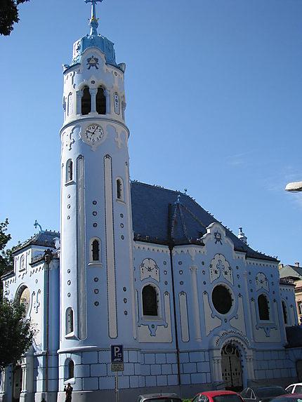 Bratislava - Eglise bleue - Modry kostolik