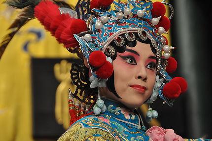 Actrice de l'opéra de Pekin