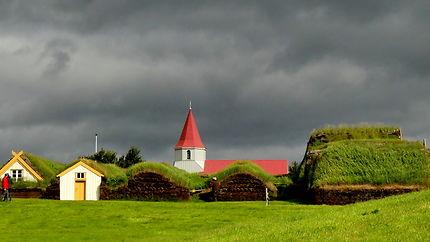 Bientôt l'orage à Glaumbær