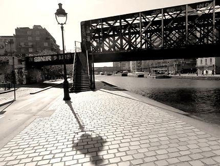 Passerelle des Ardennes (dite pont craquant)