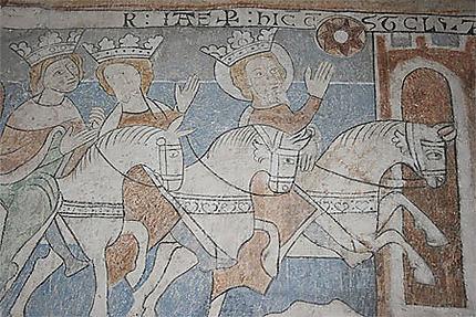 Fresques murales de l'église de Keldby