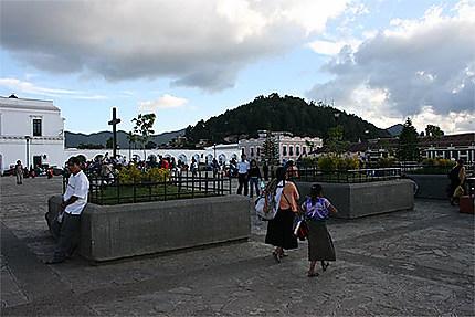 Le zòcalo de San Cristòbal de las casas