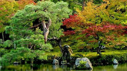 Temple Tenryo-Ji au Japon