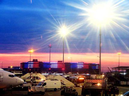 Nuit à Roissy CDG terminal 1