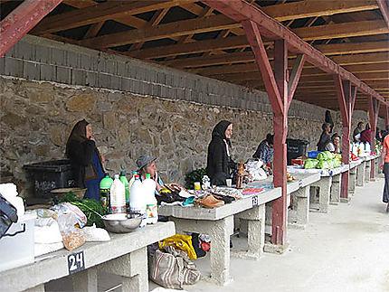 Marché de Saliste