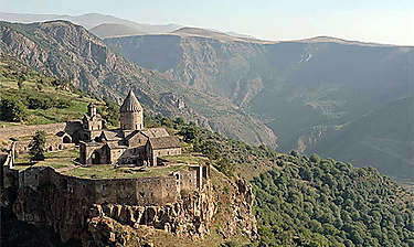 Monastère de Tatev (Arménie du Sud)