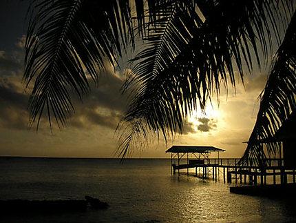 Coucher de soleil sur Fakarava