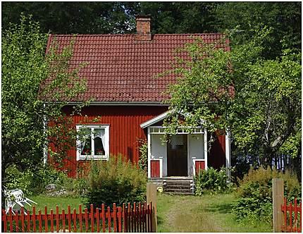 Une maison dans le Småland