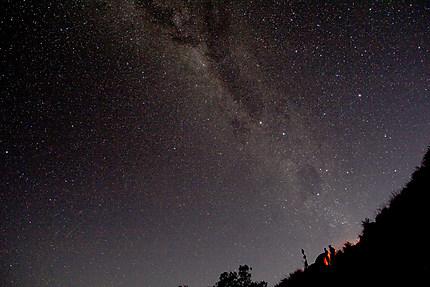 Ciel austral depuis le Rinjani