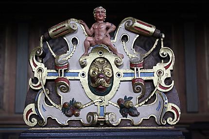 Détail de la chapelle du château