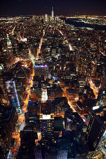 Vue urbaine de New York