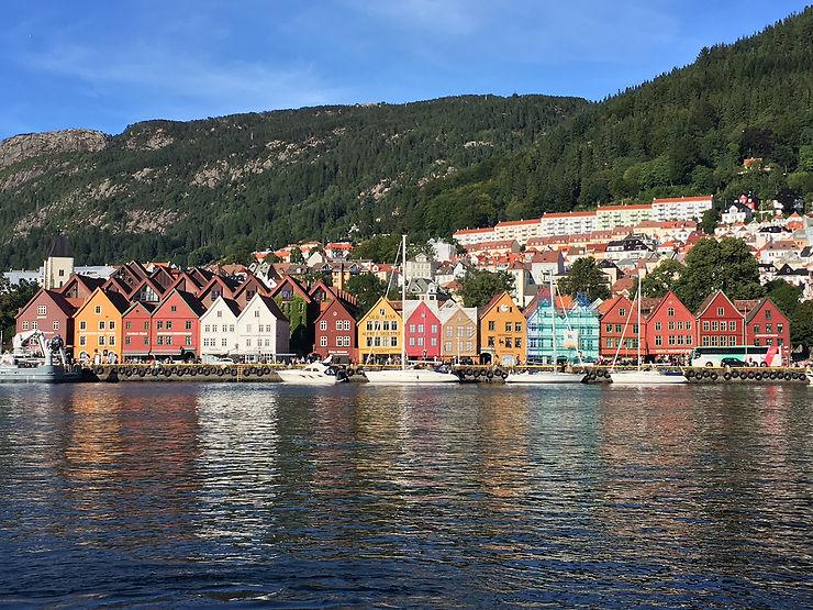 Le charme fou du vieux Bergen