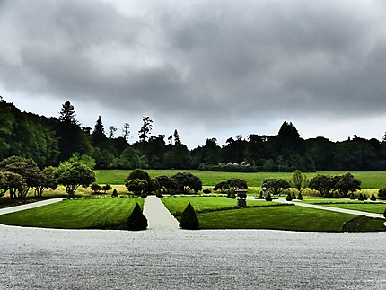 Parc du chateau de Trevarez