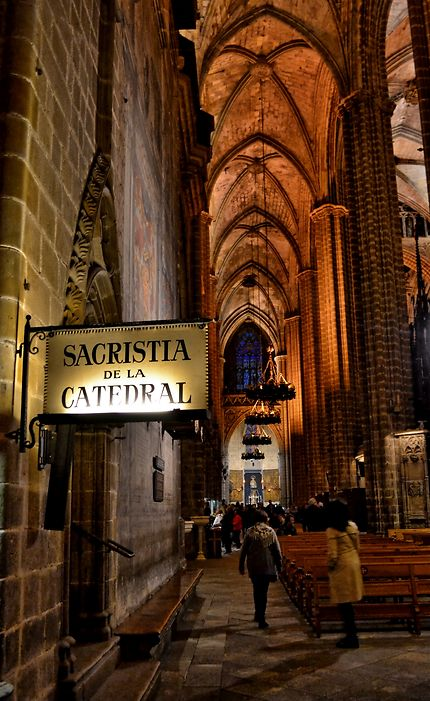 Catedral jaume, Barcelone