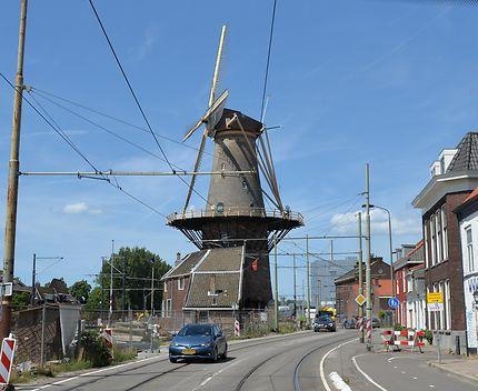 Les moulins à vent de Delft, Pays-Bas
