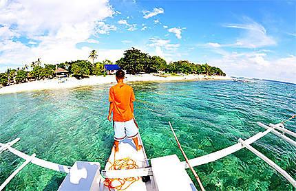 Little Island close to Bohol