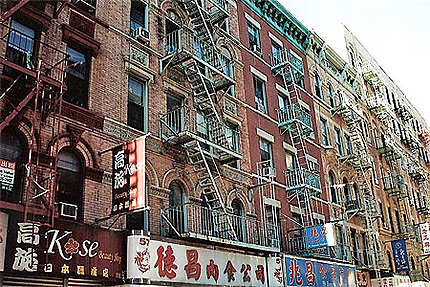 Une rue dans Chinatown...
