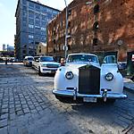 Rolls Royce et limousine