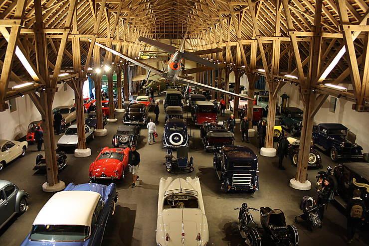 Collection de voitures du château d'Egeskov, Danemark