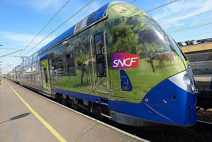 Normandie : le Train de l'Impressionnisme sur les rails