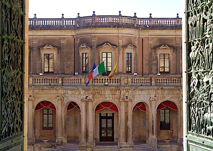 Noto - Le palais Ducezio