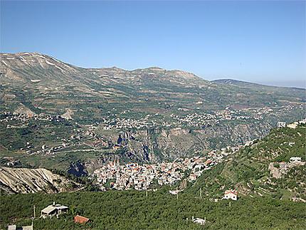 Bcharré et la la vallée de Qadisha