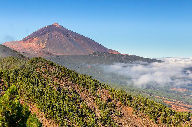 Route du volcan du Teide (Tenerife, Canaries)