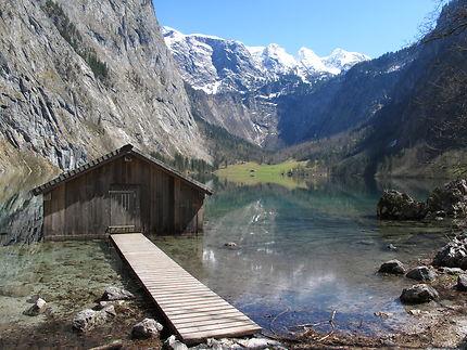 Garage à barques sur l'Obersee