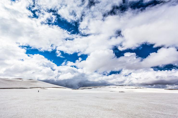 Immensité blanche, Islande