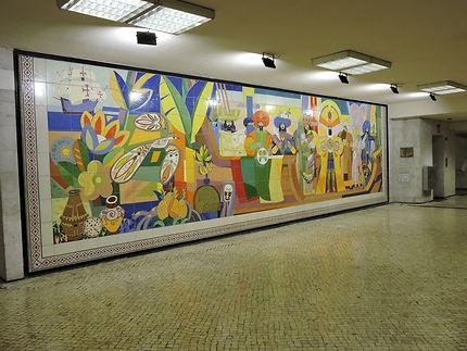 Station du métro Lisboète