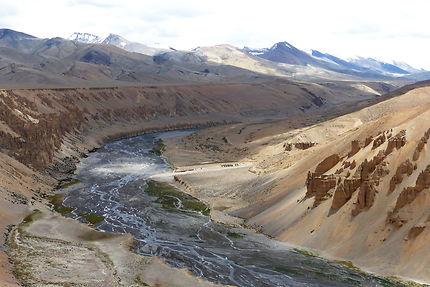 Au détour d'une route au Ladakh
