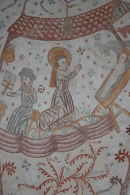Les fresques murales de Keldby