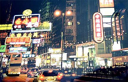 Avenue dans Hong Kong