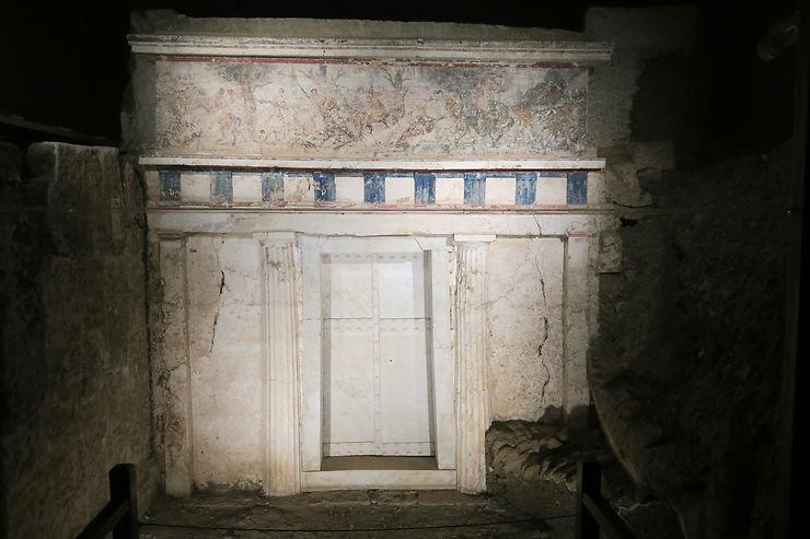 Le fabuleux monde souterrain de Vergina (Aigai)