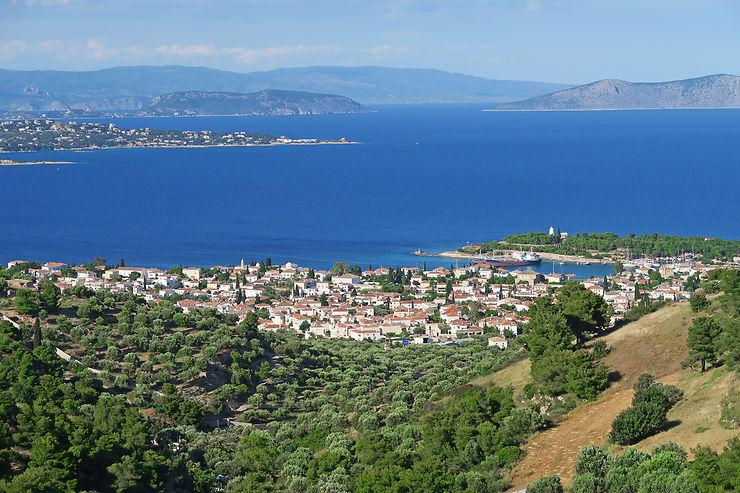 Balade au sommet de l'île de Spetses