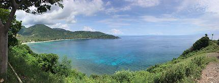 Vue sur les îles Gili