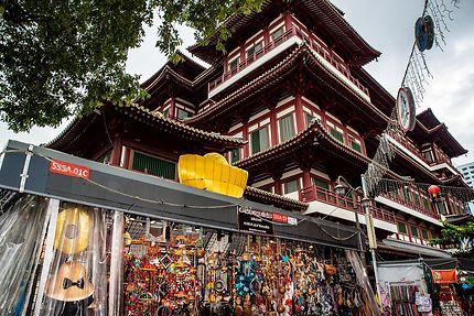 Temple de la dent de Buddha