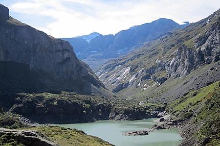 Lac du barrage des Gloriettes
