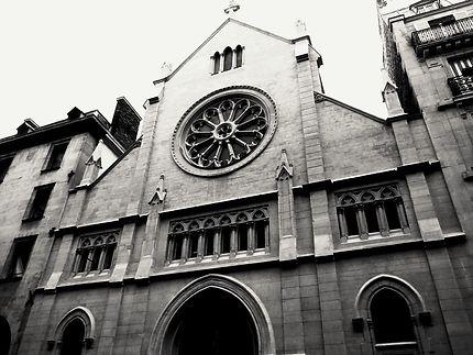 Façade de l' église Saint André de l' Europe