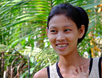 Femme ethnie Shan, région d'Arakan, Birmanie