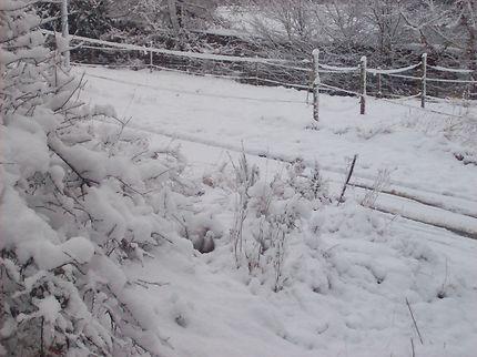 La couche de neige augmente !