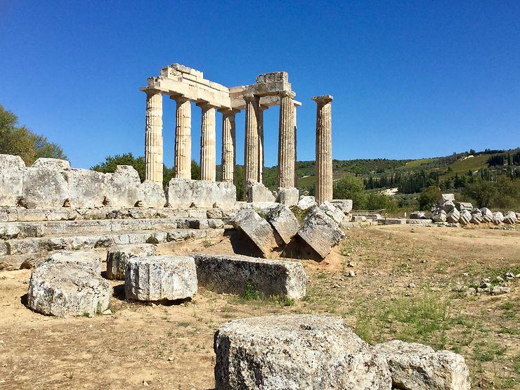 Némée Temple de Zeus, Grèce