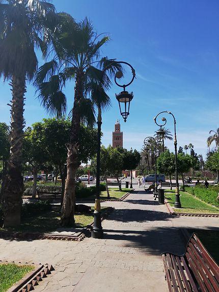 Minaret de la Koutoubia à Marrakech