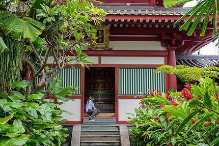 Selfie au Temple Thian Hock Keng